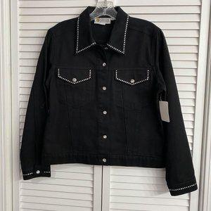 Christine Alexander black jacket